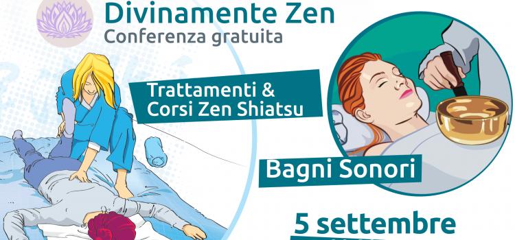 <strong>Conferenza Zen Shiatsu e Campane Tibetane </strong> <br/>5 settembre 2019 Lecco