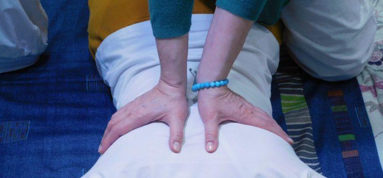 Trattamento Shiatsu alla schiena