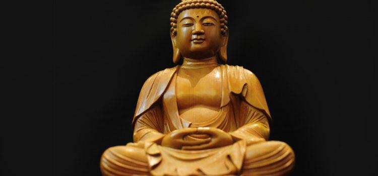 Buddha in zazen