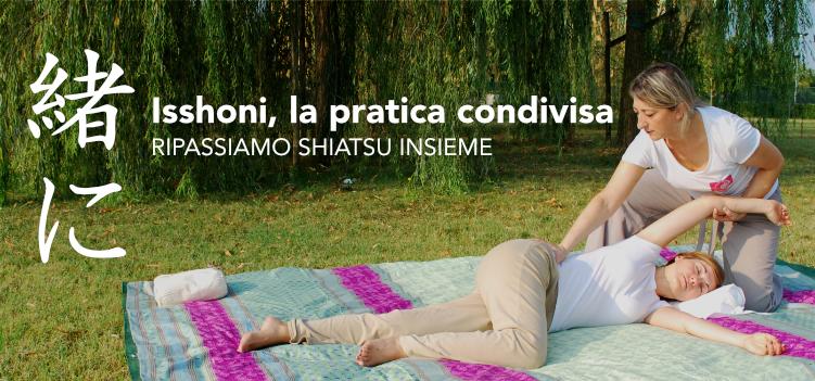 <strong>Isshoni 緒に: la pratica condivisa dello Shiatsu – Lezioni di ripasso</strong> <br/>10 Luglio